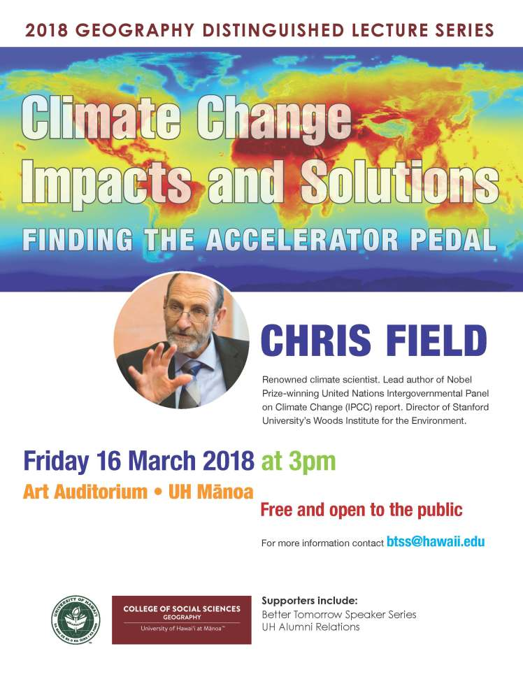 Flyer-Chris Field S2018